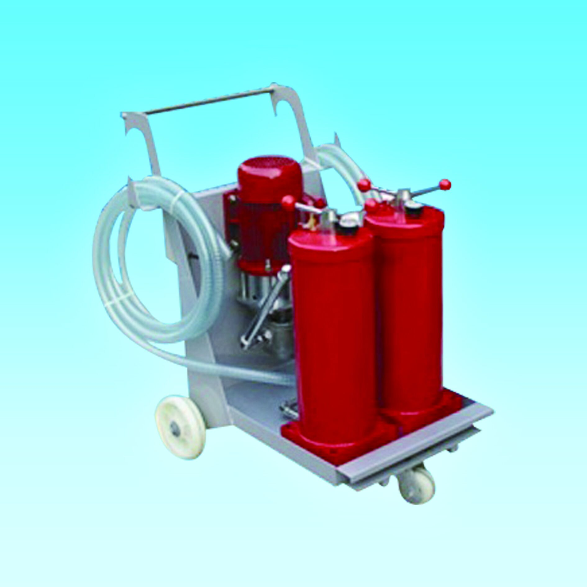 Oil Filtration Unit for Hydraulic Filter Carts